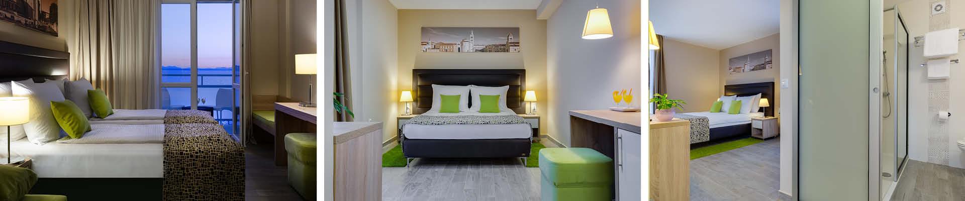 Zimmer des Hotel Pinija in Petrcane