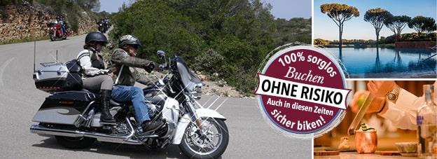 M-Motorradreisen KundM Harleyworld Schwarzweiß Fotografie Harley Davidson